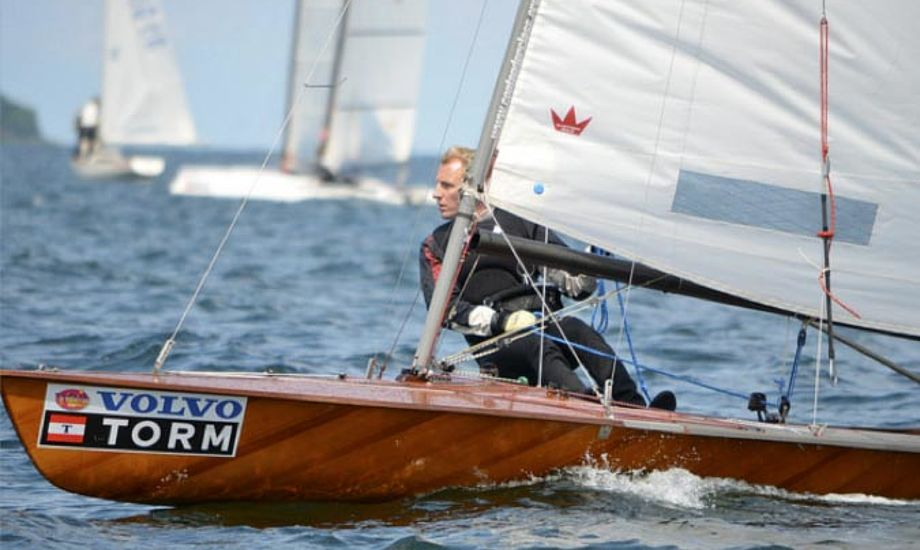 Jesper Nielsen fra Dyvig Bådelaug er af favoritterne til at vinde Contendernes klassemesterskab 2011. Foto: Jens Brock Johansen