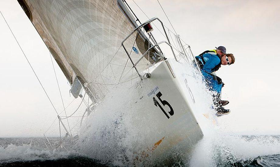 Royal Ocean Cup vrager Bornholm og flytter til Tuborg. Foto: Mick Anderson/Sailingpix.dk