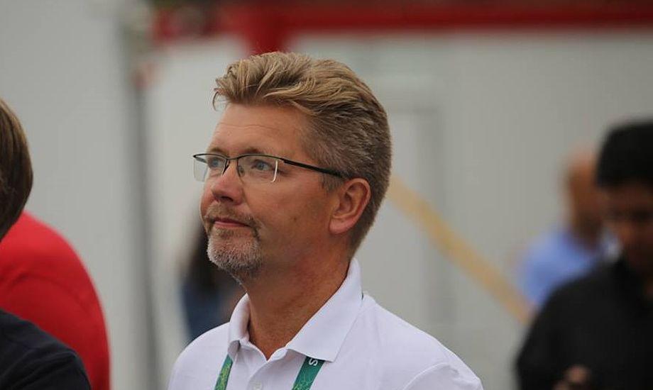 Frank Jensen, der her ser på Nacra 17-sejlads, tror især på de kvindelige OL-sejlere. Han regner med to medaljer til Danmark i Rio fra sejlsporten. Foto: Troels Lykke