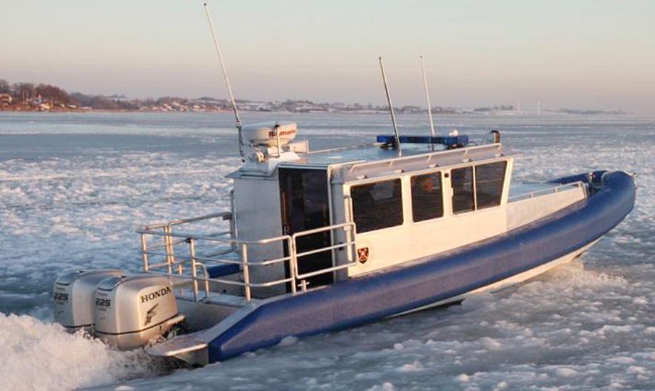 AluGuard 9,3 Full Cabin og er denne uge blevet testet på Faaborg fjord i de kolde forhold