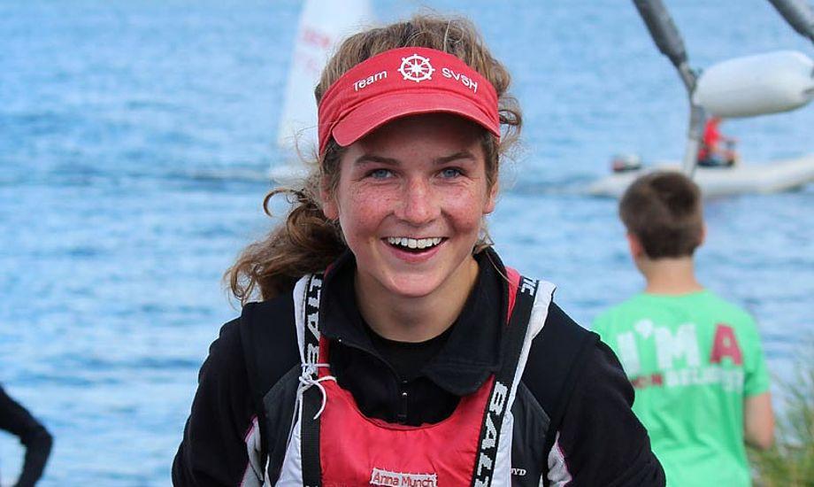 Anna Munch har nu gjort rent bord i Zoom8 klassen i 2012 med EM guld, NM guld og nu også VM. Foto: zoom8.dk