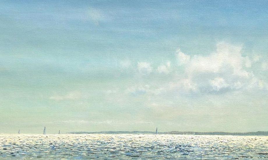 Blå himmel er ikke bare blå. Foto: HC Jacobsen