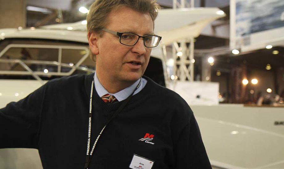 En del medlemmer har meldt sig ud af Danboat på grund af det her med to udstillinger samme år, siger Arne Bøge til minbaad.dk. Foto: Troels Lykke