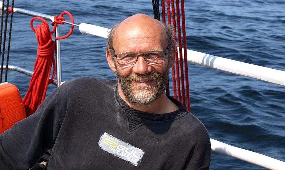 Formand Erik Venøbo vil gerne have medlemmer, der kan tale ordentligt. Foto: Louise Venøbo