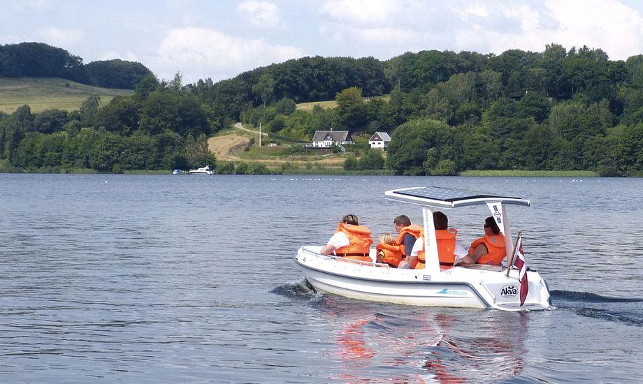 Elmotorer og tilbehør til nybygning og ombygning af både kan også købes hos Solbaaden, der forhandler de to store mærker i elektriske marinemotorer, det tyske Torqeedo og østrigske Kräutler. Foto: Solbaaden