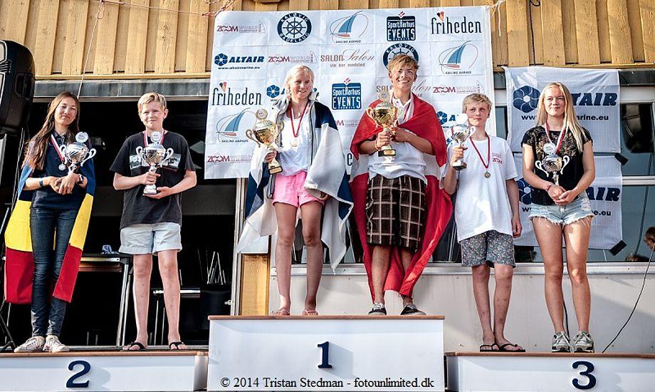 Vinderne ved VM i Zoom 8 i Kaløvig. Foto: Tristan Stedman - fotounlimitid.dk