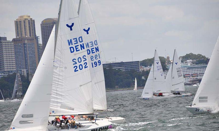 DEN 199 i baggrunden med Lucas Lier, Konrad Florian og Hans Christian Rosendahl.