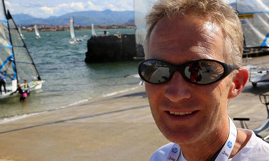 Hans Natorp var med under hele VM i Santander i september. Vi ved ikke hvor meget han tog sig betalt for den ulejlighed. Foto: Troels Lykke