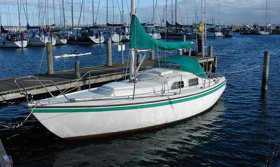 Denne Polaris Drabant kan købes for 79.000 kroner hos Kronborg Marine. Foto: Kronborg Marine