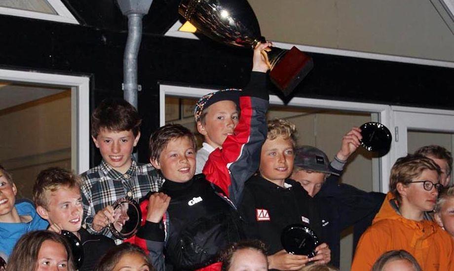 Glade vindere til Sail Extreme. foto: sailextreme.dk