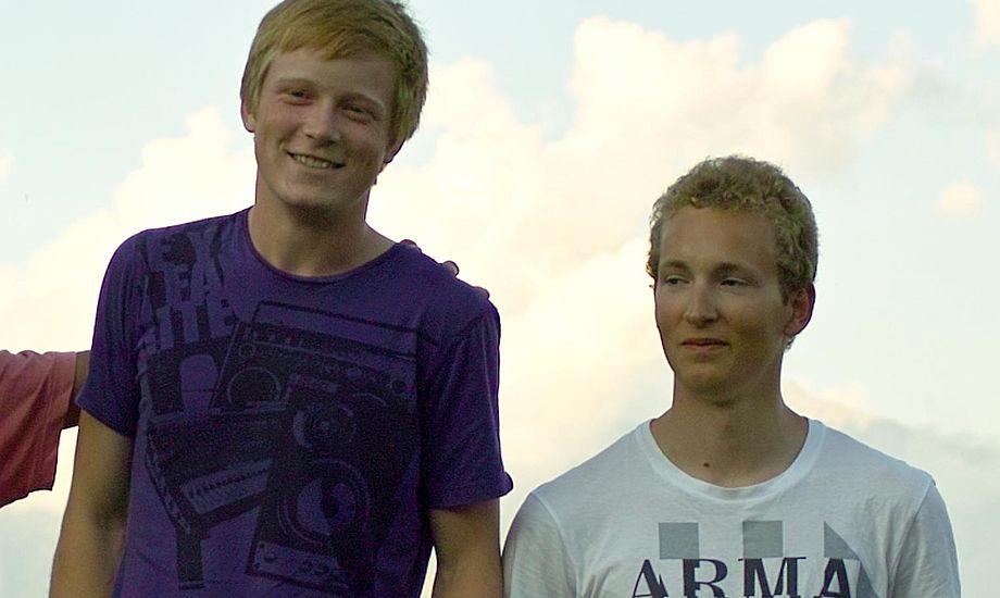 Vindere i Europeklassen, Mathias Livbjerg og Jacob Cholewa. Foto: europeclass.dk