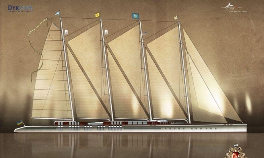 Vi gad godt vide hvem der har fået sejlordren på denne superyacht?