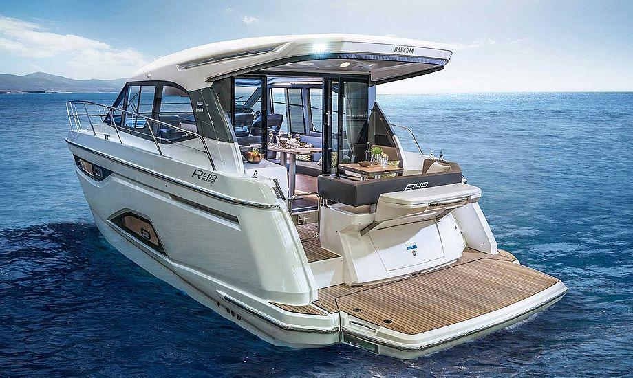 Bavaria R40 Coupe. Foto: Bavaria Yachts.
