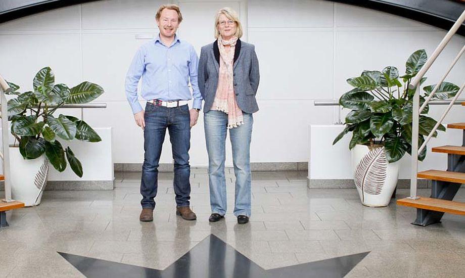 Eivind Bøymo-Malm og Linda Løn skal nu stå i spidsen for det norske Elvstrøm Sails. Foto: Mick Anderson/sailingpix