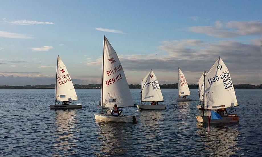 Herslev Strand Sejlklubs unge vil også sejle SRPI. Foto: HSS