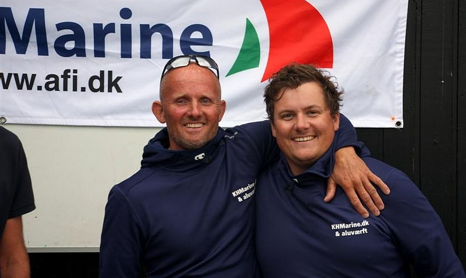 Melges 24 med Kim Haugaard og Joachim Dichmann blev hurtigste båd i årets sejlads, som kun bestod af én etape. Foto: Pantaenius/Niels Kjeldsen