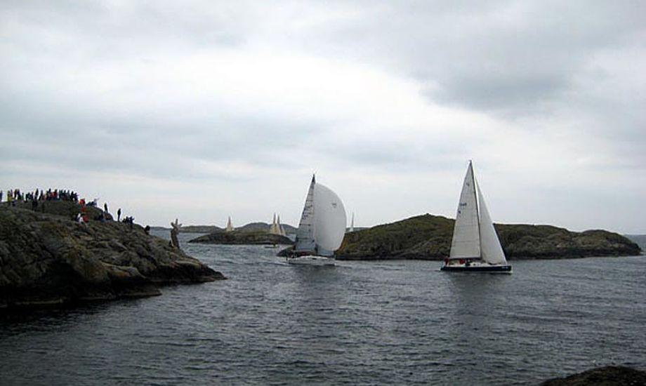 Det er svært nok at navigere ved Klädesholmen i stille vejr. Det var det ikke i 2009. Arkivfoto