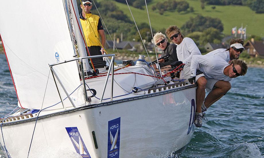 På Oures sejles i DS 37er. Foto: Per Heegaard