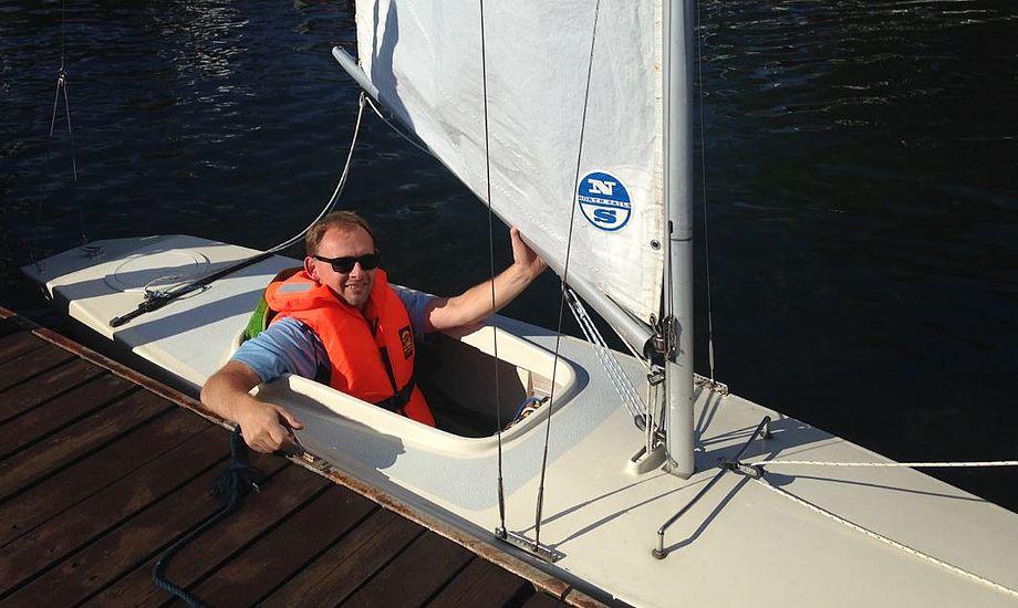 Sejladsen giver de sklerose-ramte mulighed for at deltage på lige fod med andre sejlere. Foto: Iben Skydt