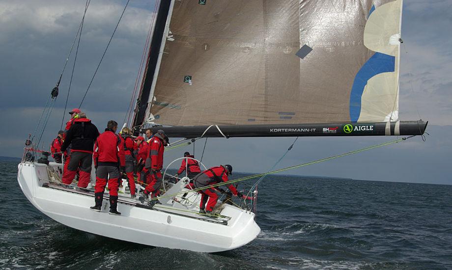 Big Challenge fra Svendborg komer i kamp med Broskraberen og x-One. Foto: Troels Lykke