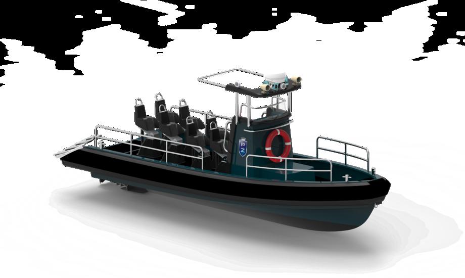 Pro-Zero bådene kan tilpasses efter kundens behov.