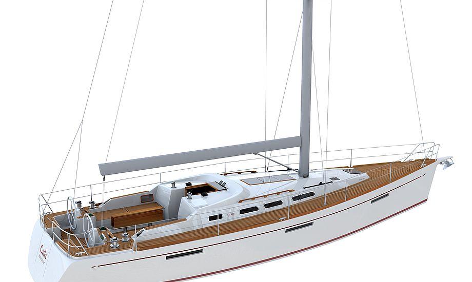 Design er skabt af Faurby Yacht og konstruktør Lars T. Olsen, Danish Marine design. Prisen bliver . 4.599.000,- inkl. moms, søsat rigget og sejlklar.