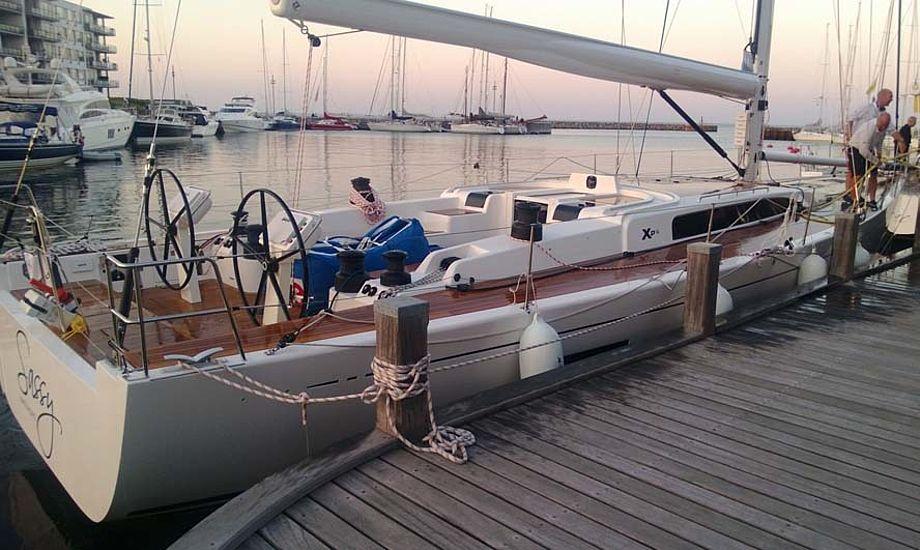 Ny Xp55 sejles af australsk besætning. Foto: Troels Lykke