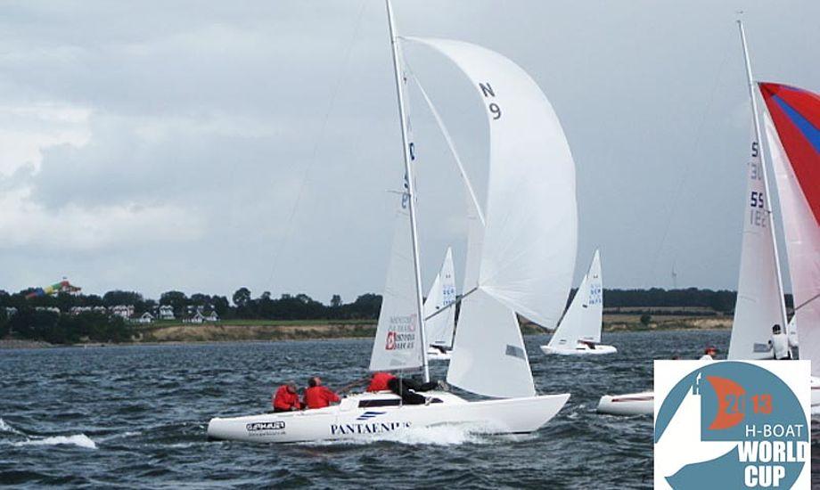 H-båds klubbens formand Henrik Toft regner med, at der kommer over 60 både til VM i Thisted. Foto: h-boat.dk