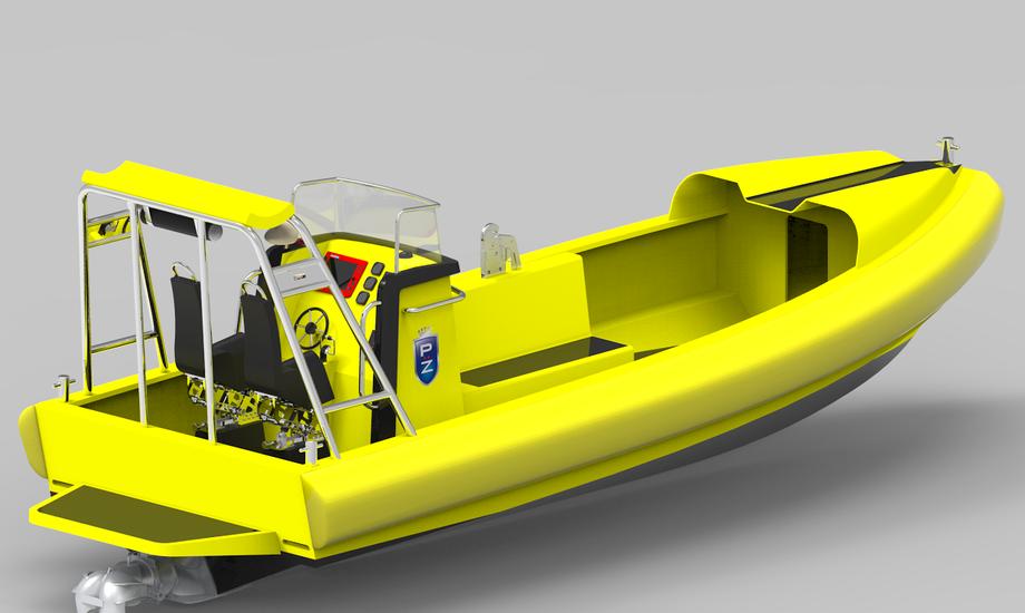 FRC'ere bliver brugt som offshore redningsbåde - primært indsat fra større moderskibe, der bærer disse mindre fartøjer.