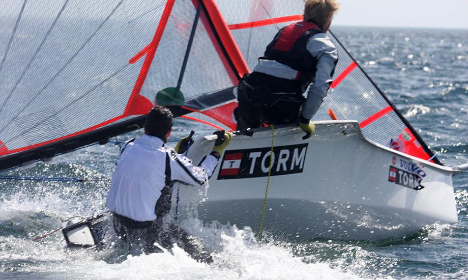 29er sejlere under det populære stævne SailXtreme. Foto: Troels Lykke