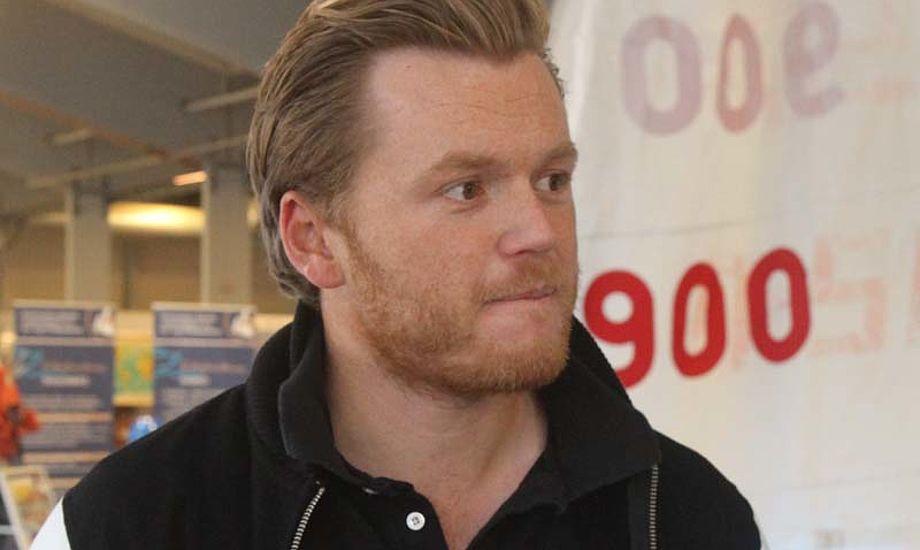 Jonas Høgh-Christensen på Både i Bella. Foto: Troels Lykke