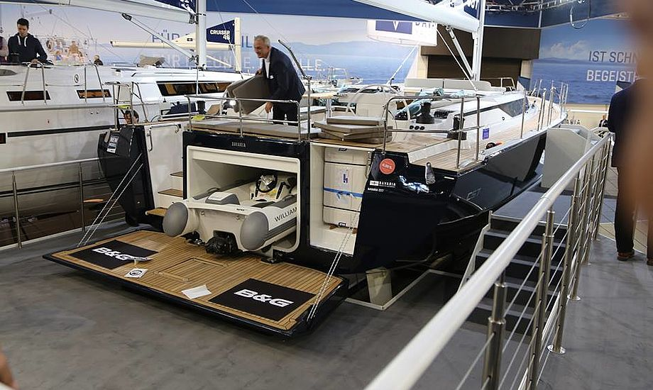 Båden forventes at sejle bedre end hidtil set af Bavaria-både, når krydsstellet bliver på 136 kvadratmeter bliver sat. Foto: Troels Lykke