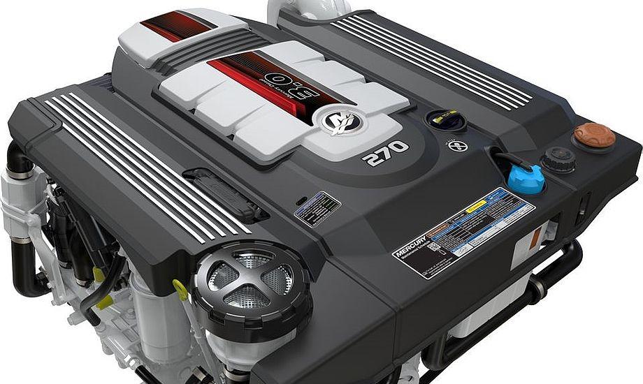 Allerede her fra efteråret kan motorerne findes hos de danske Mercury forhandlere. Både med 230 hk og 270 hk.