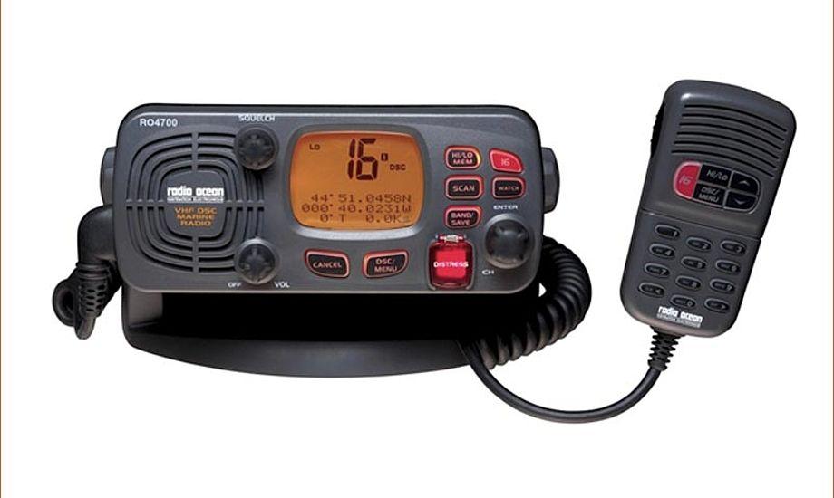 Furuno RO 4700 er den mest solgte radio i Danmark. Foto: Furuno