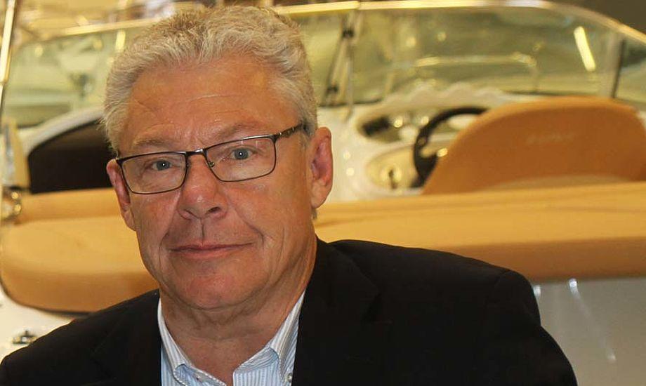 Ny direktør for Dansk Marine Center A/S, Jens Meyer, har bl.a. en 15 årig fortid inde for møbelbranchen, samt ti år som business angel. Foto: Troels Lykke