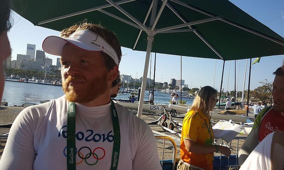 Jonas Høgh-Christensen tog 17. plads i Rio, nu sejler han Drage med barndomsvennerne. Foto: Troels Lykke