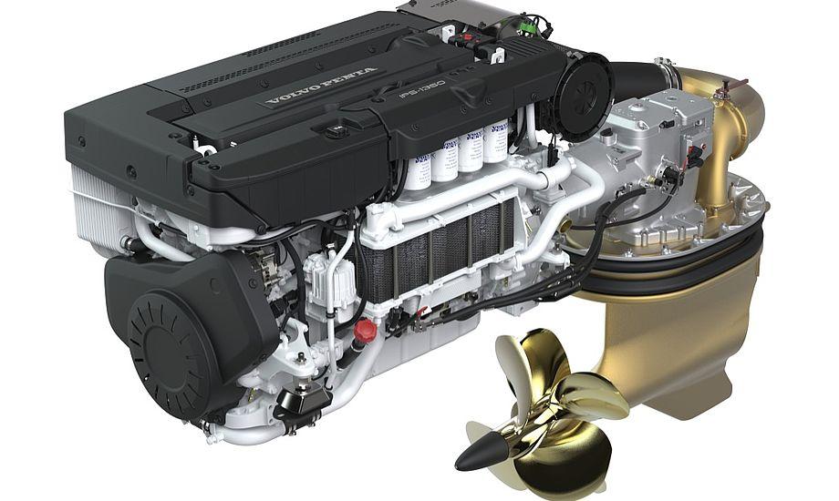 Med 1000 hk har Volvo Penta aldrig tidligere lavet kraftigere motor til lystsejlerne. Foto: PR-foto