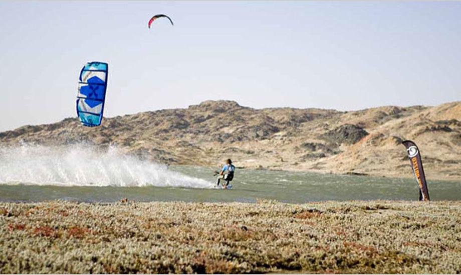 kitesurfer med dansk deltagelse