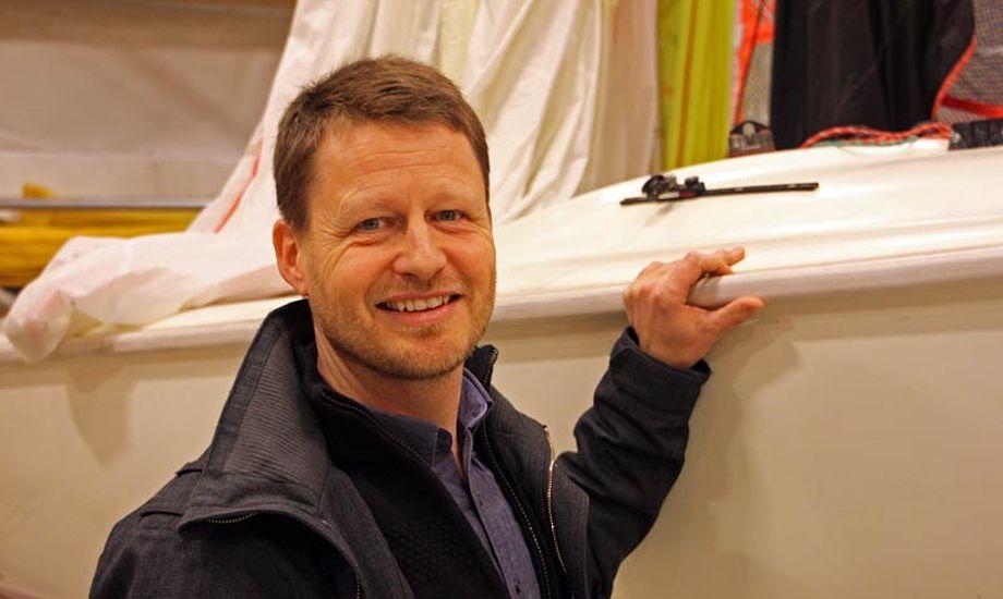 Mads Kolte-Olsen har ikke egen båd, men vil meget gerne gaste på en større båd. Foto: Dansk Sejlunion/Joakim Rechnitzer