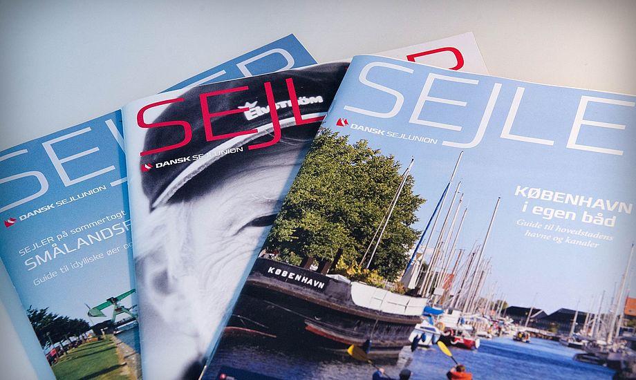 Fornylig lukkede BådNyt, nu lukker SEJLER også. Det er blevet dyrt at drive et print-magasin på grund af dyr port fra Postnord. Foto: Dansk Sejlunion