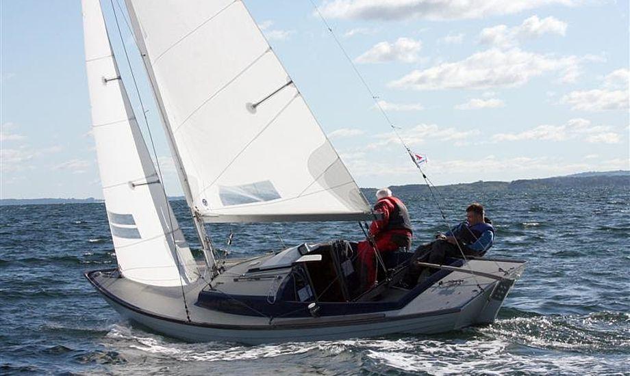 Videreuddannelse kan holde de nye sejlere i på vandet, mener Benjamin Kristensen. Foto: Arkivfoto