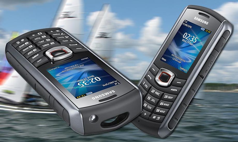 Samsungs mobiltelefon har også indbygget FM-radio, med optager. Foto: Samsung