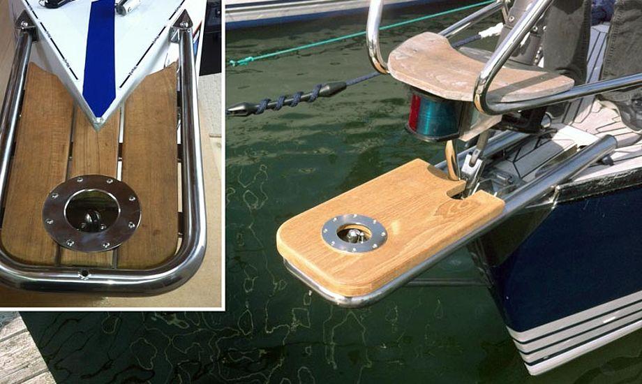Furleren kan leveres med trådløs fjernbetjening samt tilpasses den enkelte bådtype. Foto: Furltec