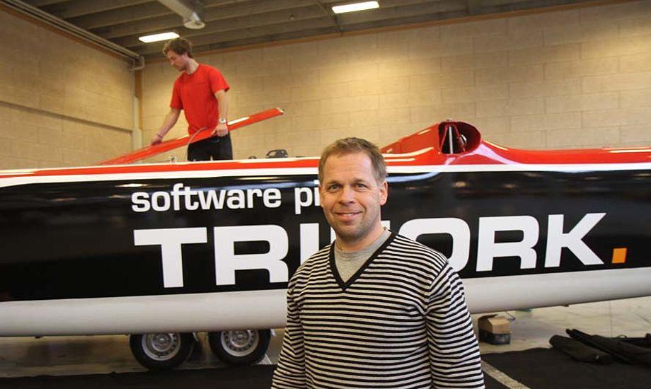 Den dobbelte America's Cup-sejler Mikkel Røssberg tror på at man hurtigt kan lære at sejle flerskrogsbåd. Foto: Troels Lykke