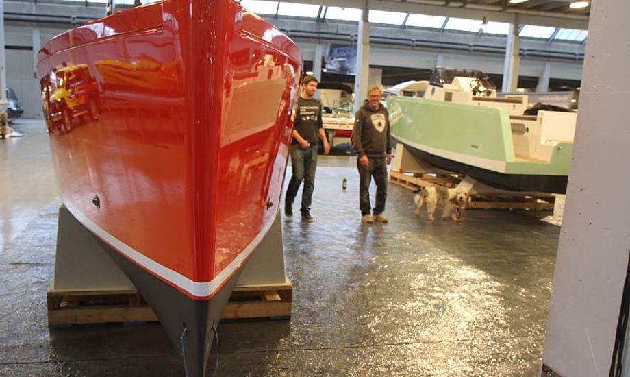 Der er to Smartboat 23 med på Både i Bella, båden har et væld af gode detaljer. På lørdag er der champagne kl. 14 til alle på deres stand i Bella. Foto: Troels Lykke
