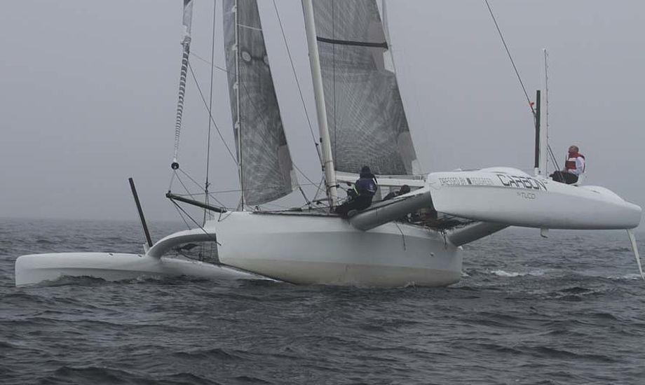 Carbon3 under Mumm Stelton Cup forleden. Foto: Troels Lykke