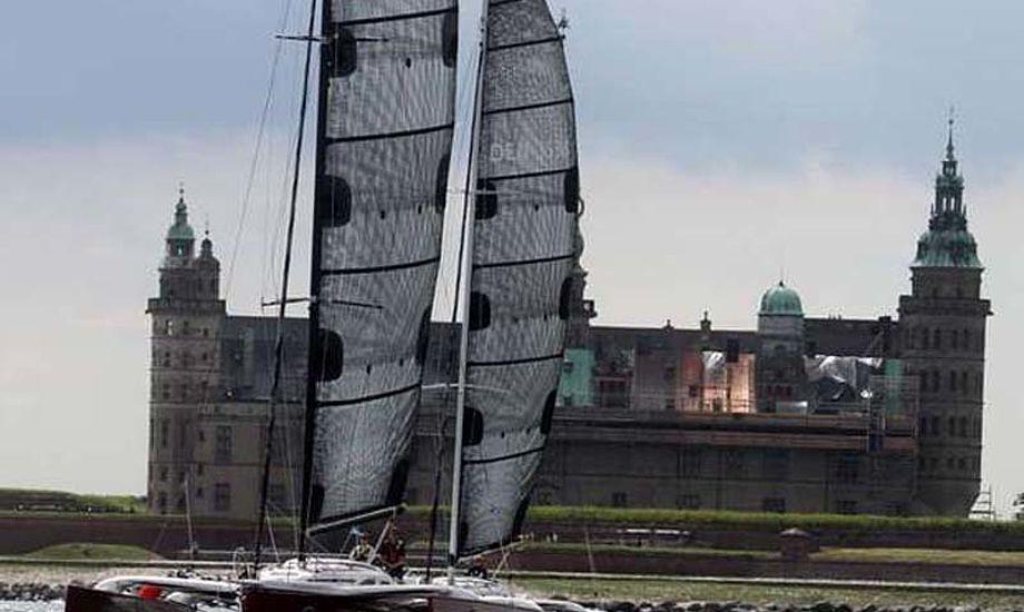 Flerskrogsbåde er igen tilladt i Helsingør under Sjælland Rundt. Foto: Troels Lykke