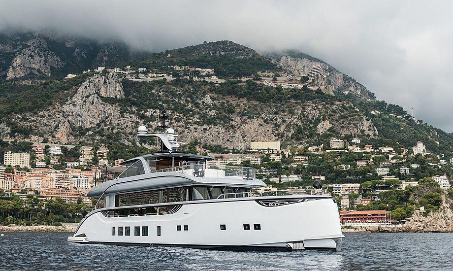 GTT 115 i Monaco Bay. Foto: Bogdan Gusarev/Dynamiq Monaco.