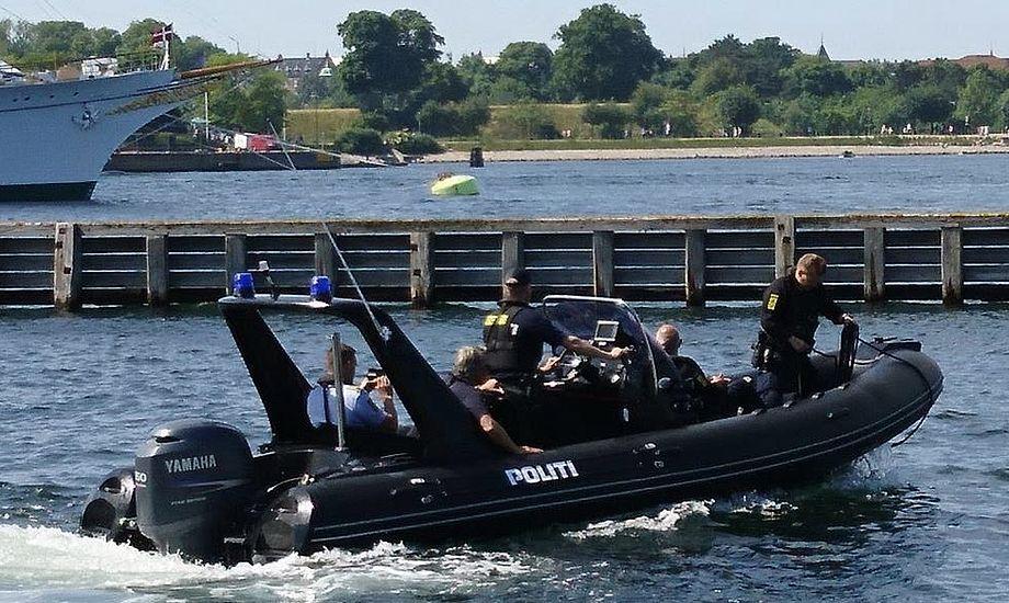 Pro-Safe, som har en årlig omsætning på 30 mio. danske kroner, har netop leveret denne RIB til politiet i København. Foto: Pro-Safe
