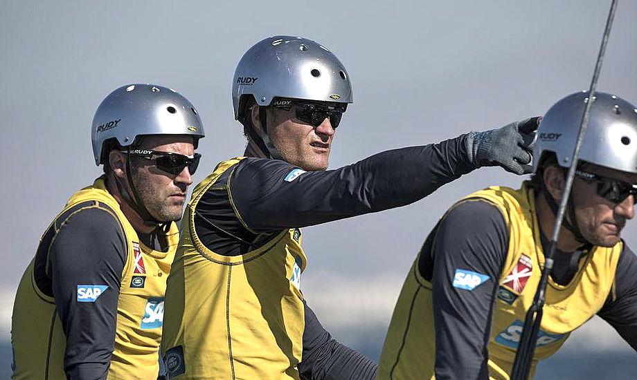 Jes Gram-Hansen og Rasmus Køstner fra Aarhus har nu analyseret deres 4. plads fra Oman. Foto: Lloyd Images
